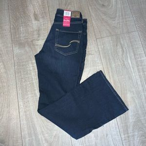 NWT LEVIS JEANS Simply Stretch Mid Rise Boot cut 6